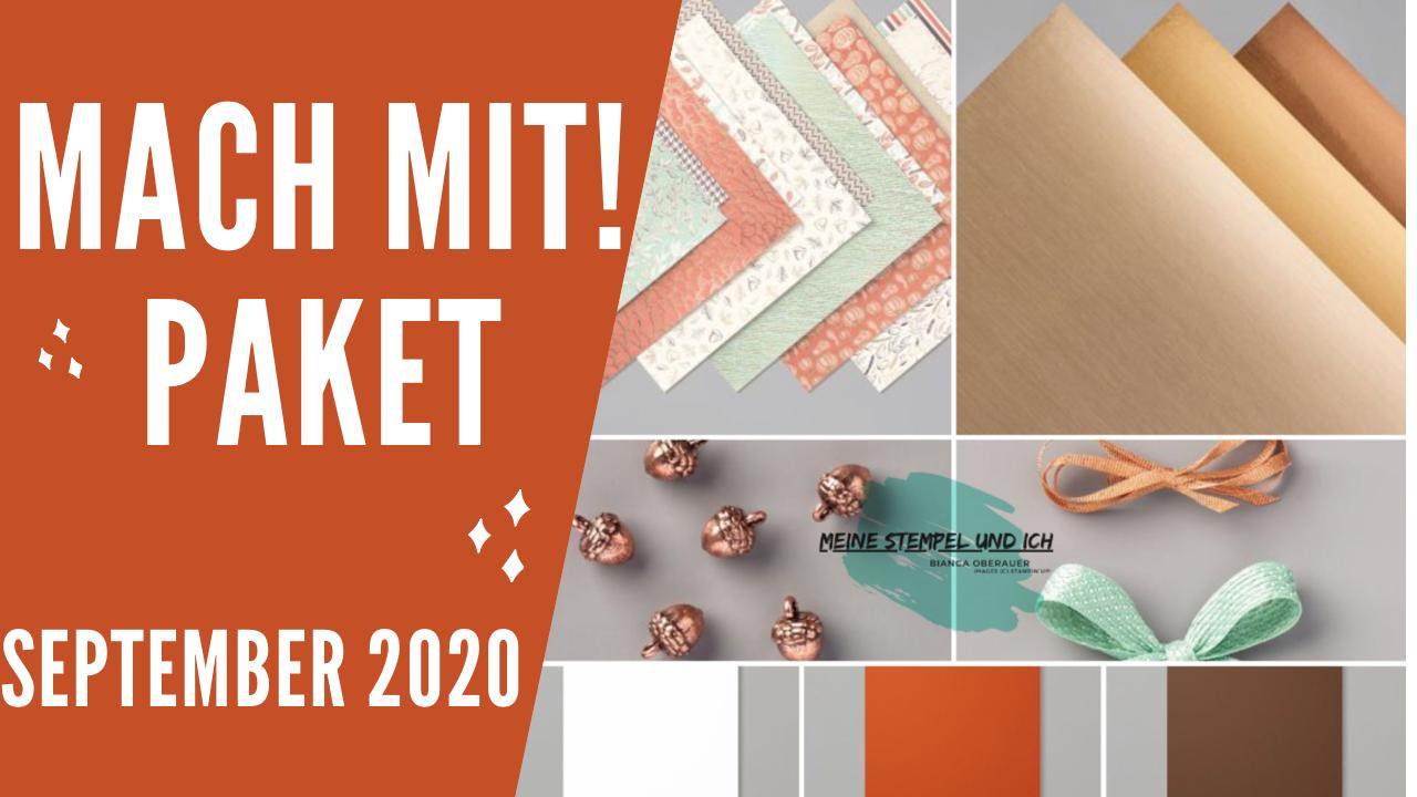 MACH MIT! PAKET IM SEPTEMBER 2020