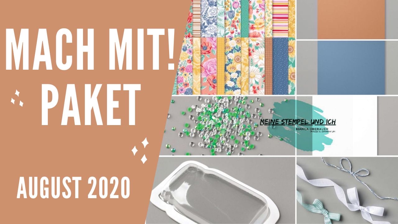 MACH MIT! PAKET AUGUST 2020