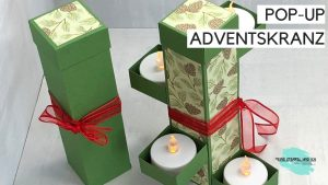 POP-UP ADVENTSKRANZ